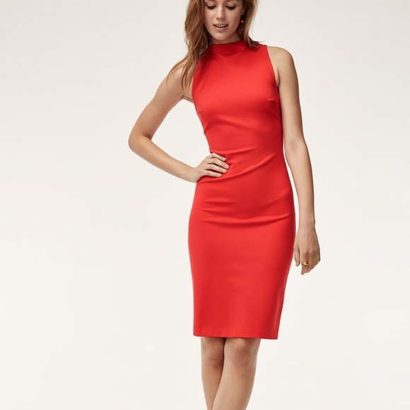 e5c99b12f5393 Aritzia Dresses & Skirts - Aritzia Red Babaton Midi Pencil Dress
